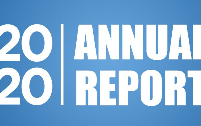 2020 annual report heading